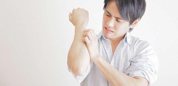 ブヨによる虫刺されは痒みも腫れも予想外