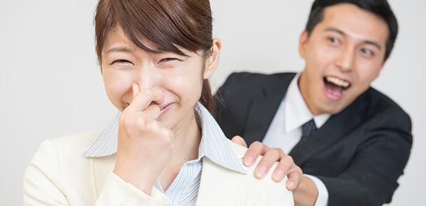 口臭の症状