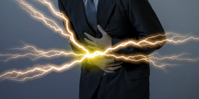 激痛の腹痛