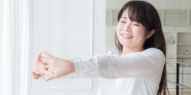ストレス発散する女性
