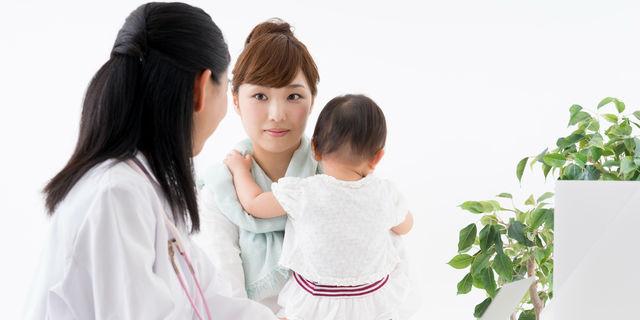 赤ちゃんの診察