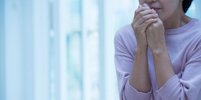 冷え症の女性