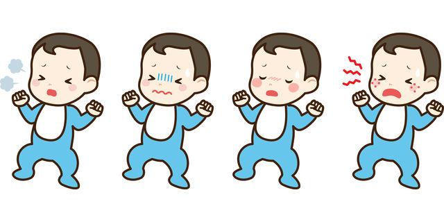 赤ちゃんの病気の症状