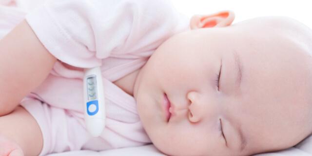 体温計と赤ちゃん