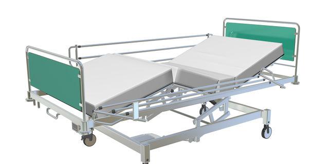 病院のベッドガード