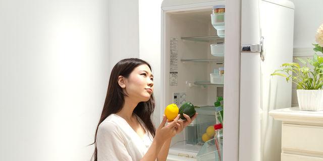 冷蔵庫の食材チェック