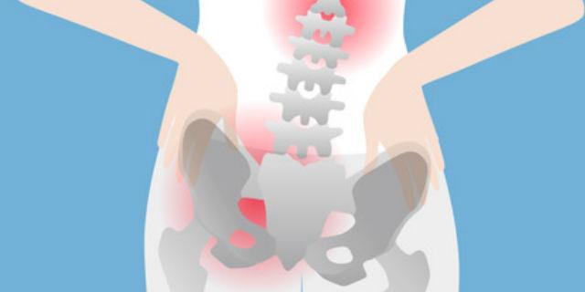 片方の股関節が炎症