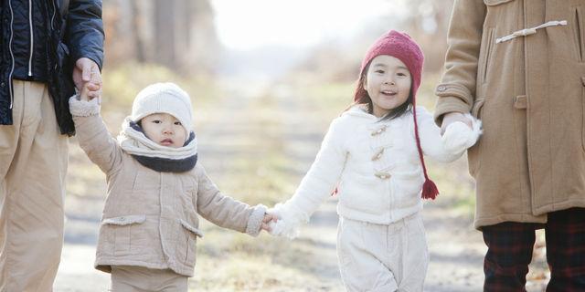 子どもの秋冬の服装