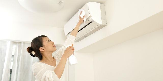エアコンの掃除