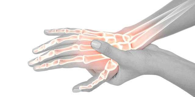 手首の関節