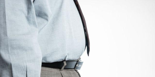 糖尿病で肥満の男性