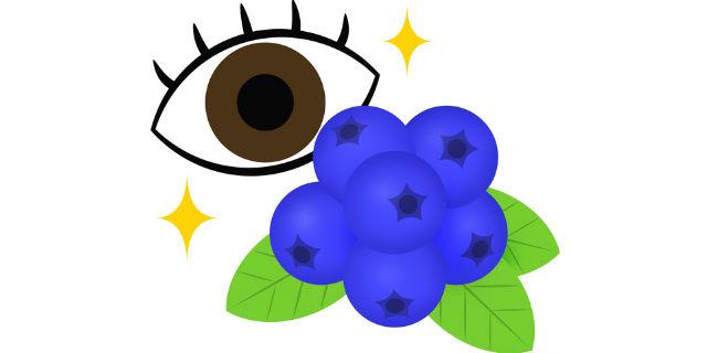 ブルーベリーの目への効果