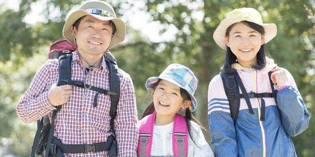 親子で楽しむハイキング