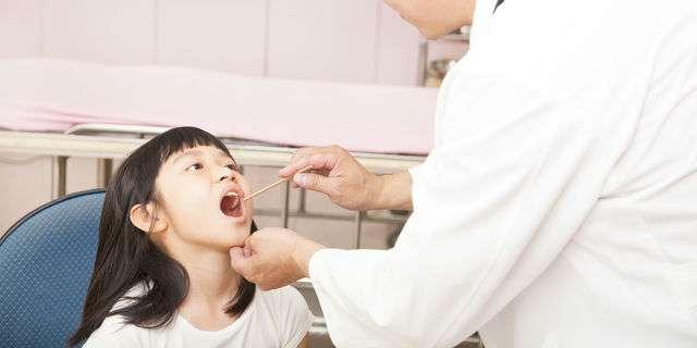 小児科で診察される子ども