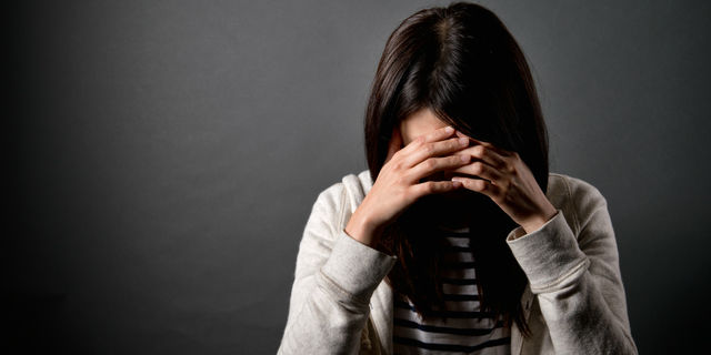 精神疾患の女性