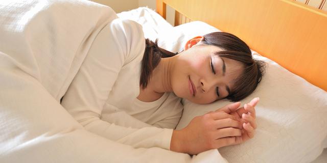 インフルエンザ予防のためきちんと睡眠をとる