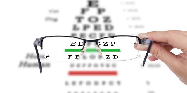 視力矯正メガネ