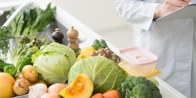 栄養士と野菜