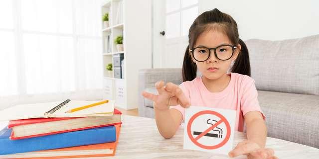タバコにNOという子ども