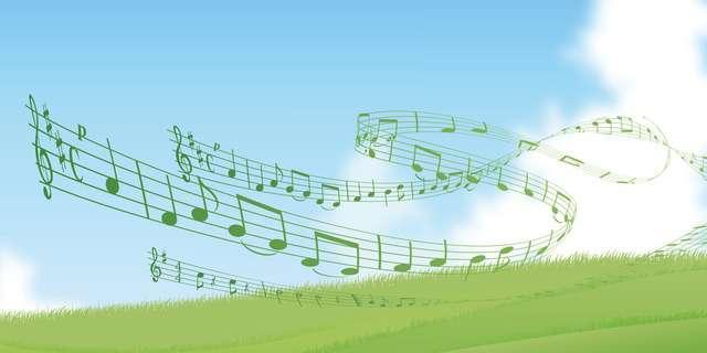 カラフルな音楽