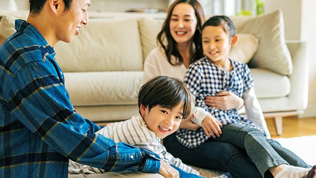 家族の健康や快適な生活環境