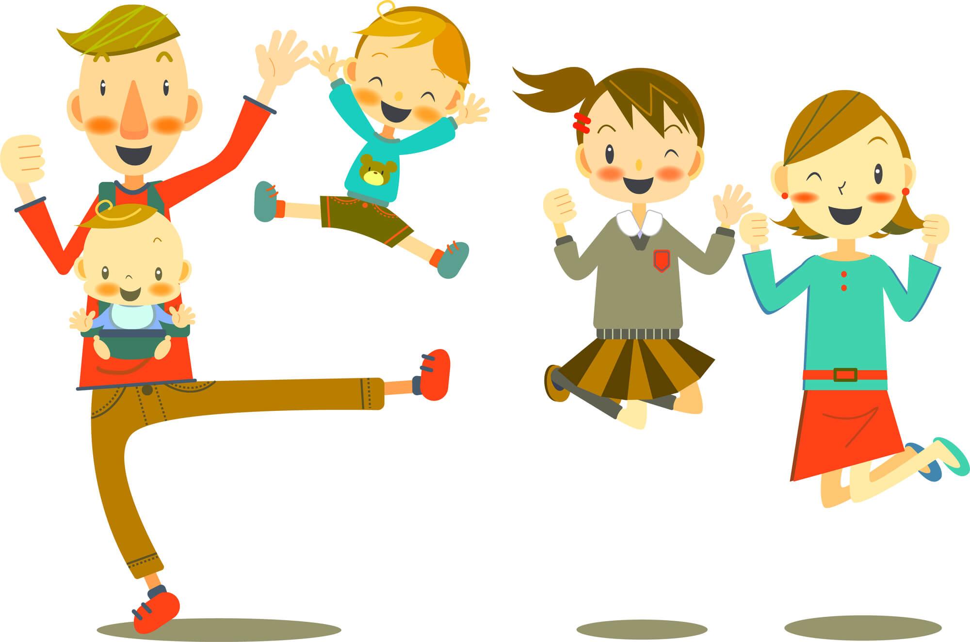 新型コロナ対策!子どもとできる運動