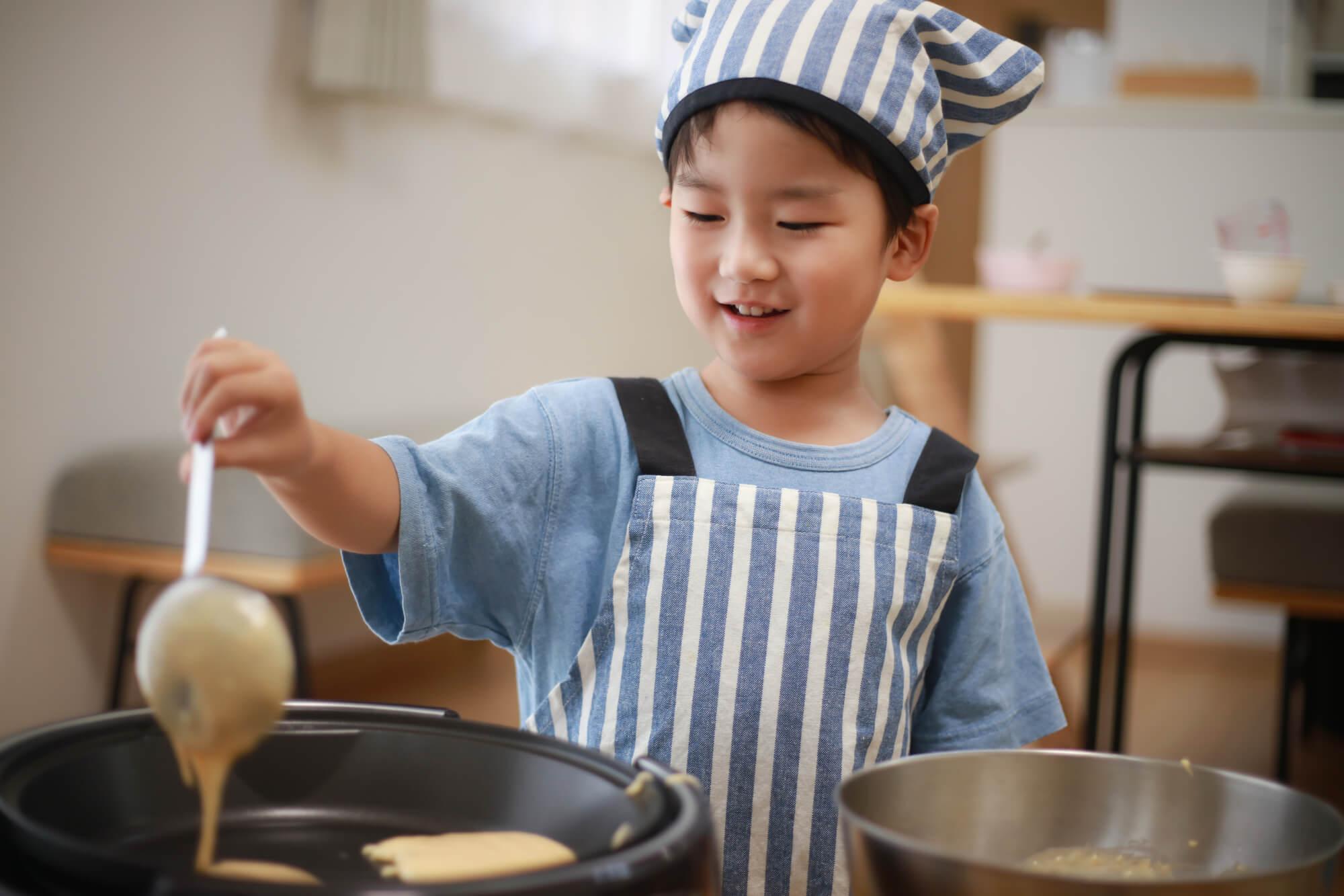 親子で料理をするメリット