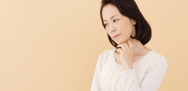 つらい更年期障害…でも、治療できる!?